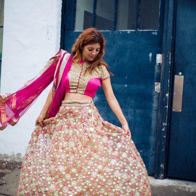 omg: custom-made indian dress