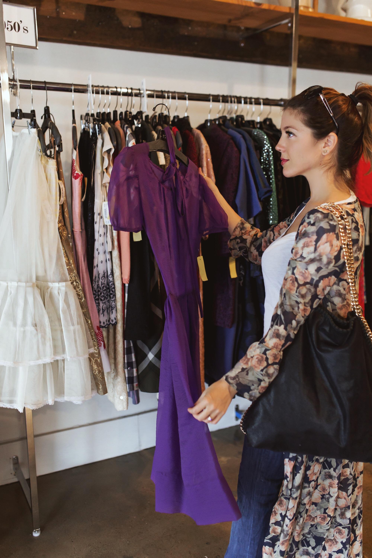 molly tuttle vintage shopping fashionveggie