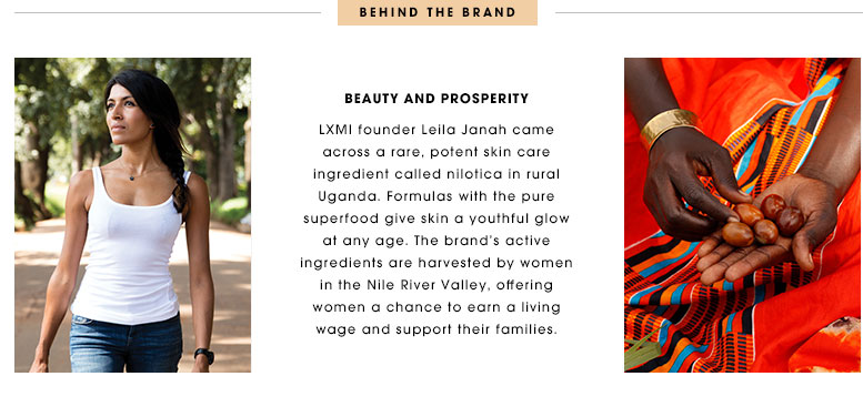 LXMI vegan skincare fashionveggie