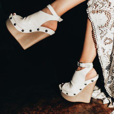 My Custom Vegan Wedding Shoes  [Feat: Mink Shoes]