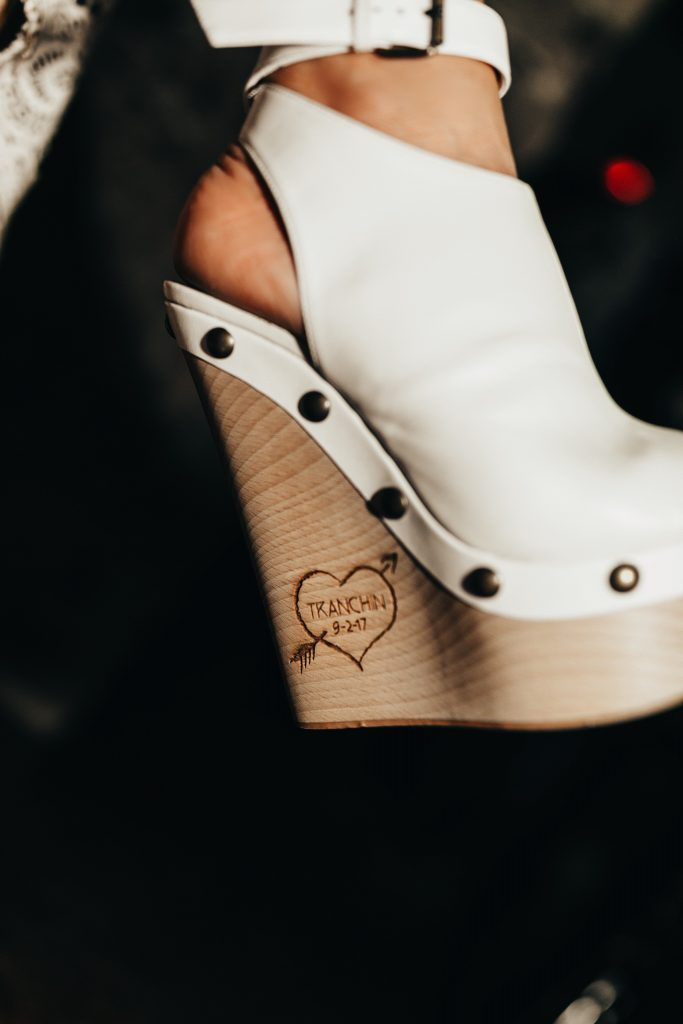 custom made vegan bridal shoes by mink shoes