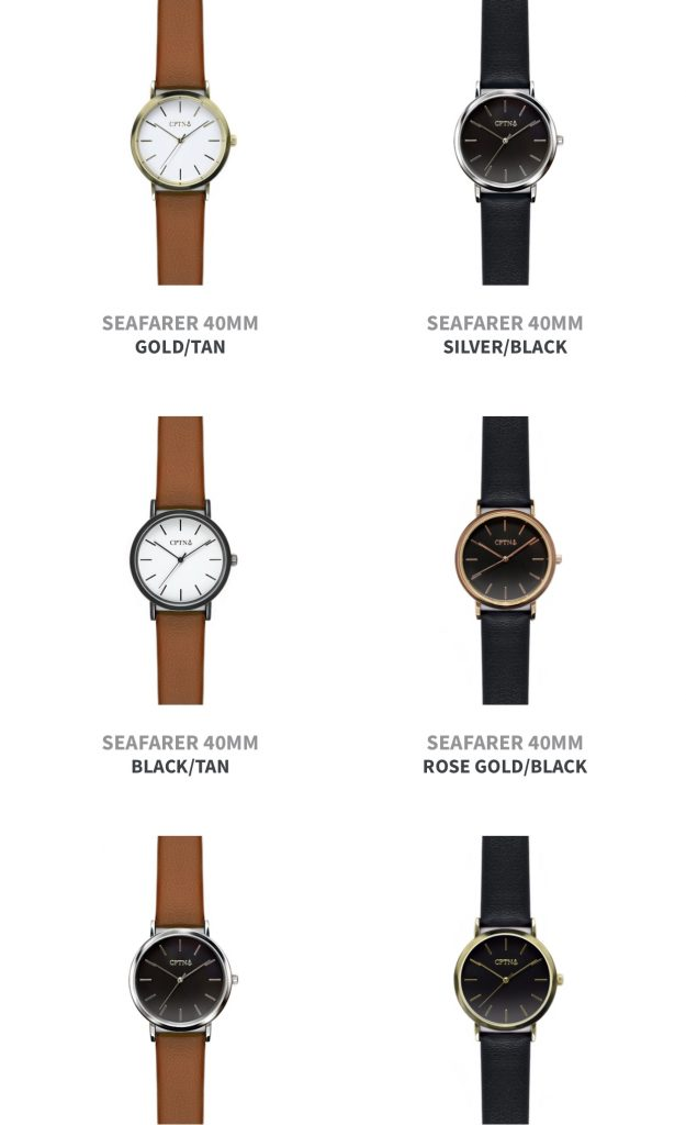 cptn watches vegan watches