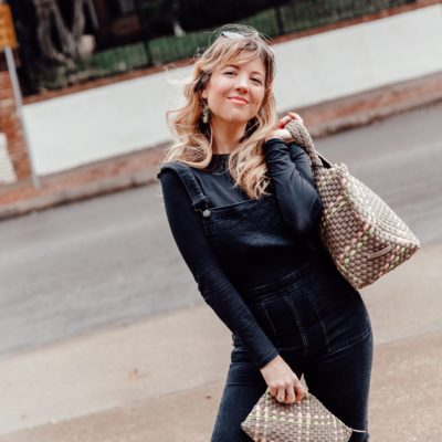 Woven Neoprene Handbag Brand: Naghedi
